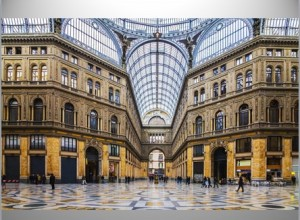 Galleria Umberto, luxe overdekte shopping mall in Napels